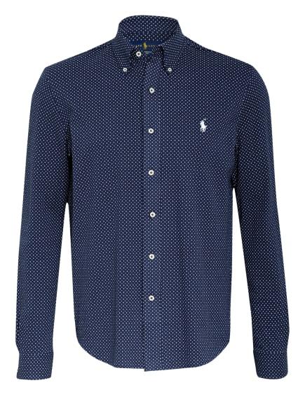 POLO RALPH LAUREN Piqué-Hemd Regular Fit, Farbe: DUNKELBLAU/ WEISS (Bild 1)
