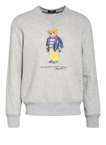 POLO RALPH LAUREN Sweatshirt, Farbe: GRAU/ HELLGRAU/ GELB (Bild 1)