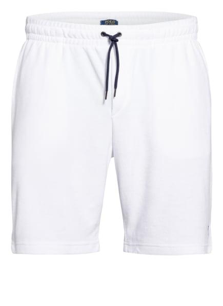 POLO RALPH LAUREN Frottee-Shorts, Farbe: WEISS (Bild 1)