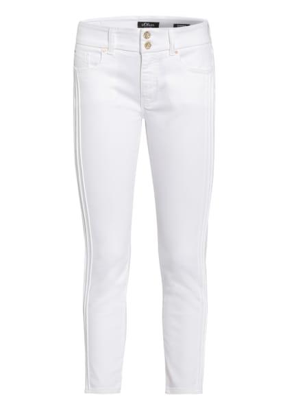 s.Oliver BLACK LABEL 7/8-Jeans, Farbe: 01Z8 fresh whit (Bild 1)