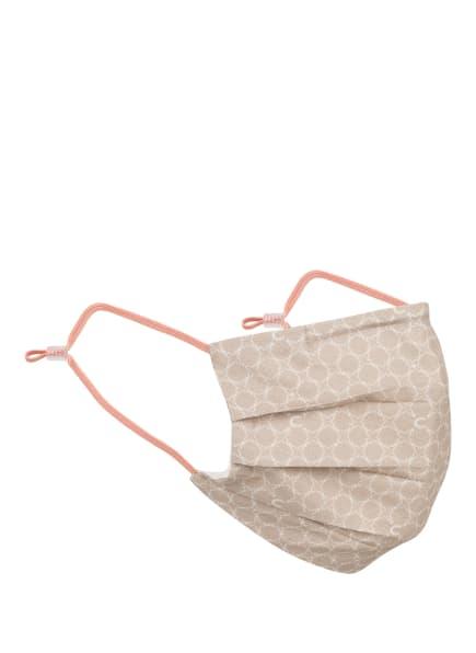 CODELLO Mund- und Nasenmaske, Farbe: BEIGE/ WEISS (Bild 1)