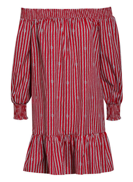 MICHAEL KORS Kleid mit 3/4-Arm, Farbe: 606 Crimson (Bild 1)