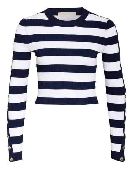 MICHAEL KORS Pullover, Farbe: 482 MDNTBL/WHT (Bild 1)