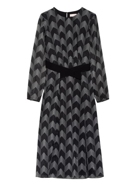TED BAKER Kleid ATLAS, Farbe: SCHWARZ/ WEISS/ SILBER (Bild 1)