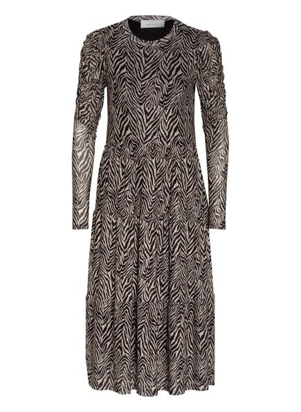 NEO NOIR Kleid MARIE , Farbe: SCHWARZ/ CAMEL (Bild 1)