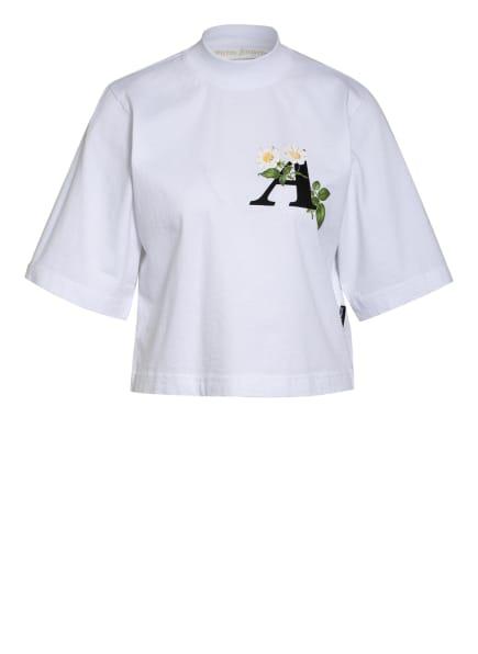 Palm Angels T-Shirt, Farbe: WEISS/ SCHWARZ/ GRÜN (Bild 1)
