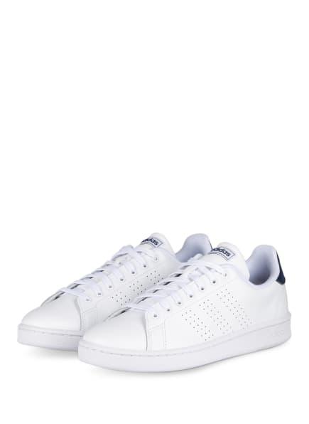 adidas Sneaker ADVANTAGE, Farbe: WEISS/ DUNKELBLAU (Bild 1)