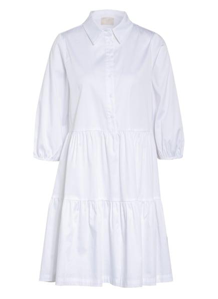 Mrs & HUGS Kleid mit 3/4-Arm, Farbe: WEISS (Bild 1)