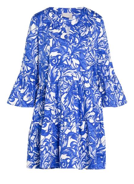 Mrs & HUGS Kleid , Farbe: BLAU/ WEISS (Bild 1)