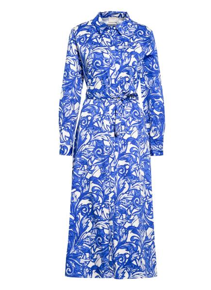 Mrs & HUGS Hemdblusenkleid, Farbe: BLAU/ WEISS (Bild 1)