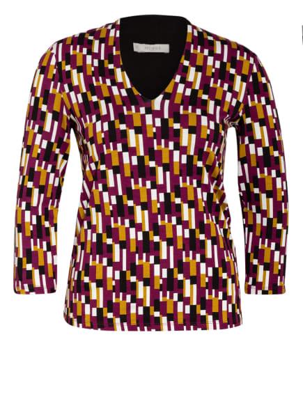 HOBBS Shirt AIMEE mit 3/4-Arm, Farbe: DUNKELGELB/ FUCHSIA/ WEISS (Bild 1)