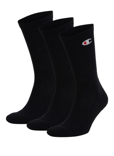 Champion 6er-Pack Socken, Farbe: 3051 8UZ BLAC (Bild 1)