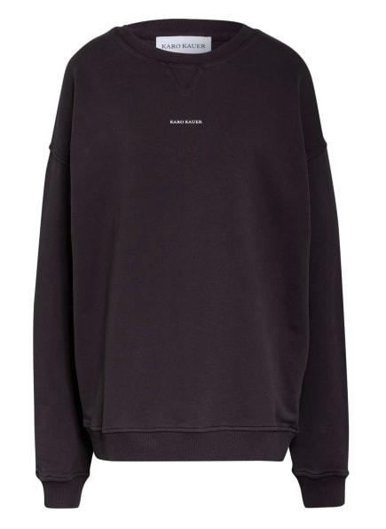 KARO KAUER Sweatshirt KARO KAUER, Farbe: DUNKELGRAU (Bild 1)