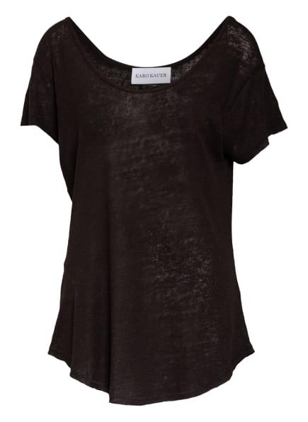 KARO KAUER T-Shirt MALI, Farbe: SCHWARZ (Bild 1)