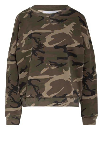 KARO KAUER Sweatshirt CAMOU, Farbe: KHAKI/ OLIV/ SCHWARZ (Bild 1)
