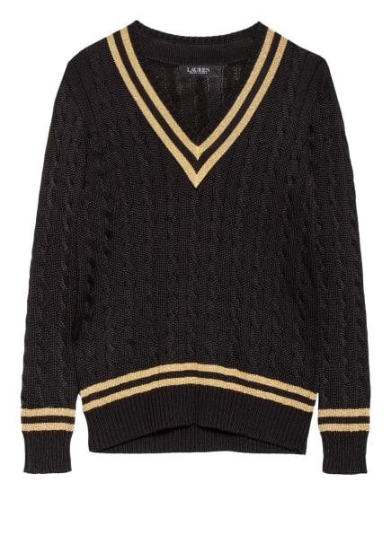 LAUREN RALPH LAUREN Pullover MEREN, Farbe: SCHWARZ/ GOLD (Bild 1)