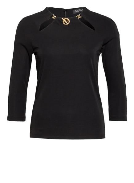 LAUREN RALPH LAUREN Shirt VALASSA mit 3/4-Arm, Farbe: SCHWARZ (Bild 1)