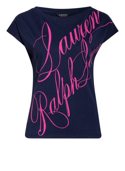 LAUREN RALPH LAUREN T-Shirt, Farbe: DUNKELBLAU/ PINK (Bild 1)
