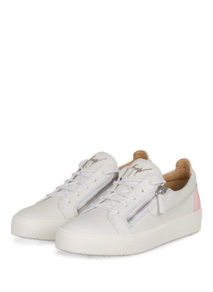 GIUSEPPE ZANOTTI DESIGN Sneaker , Farbe: WEISS/ ROSA (Bild 1)