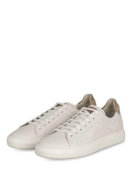 BRUNELLO CUCINELLI Sneaker, Farbe: WEISS/ CAMEL (Bild 1)