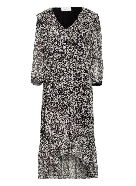 ba&sh Kleid ERYM mit 3/4-Arm , Farbe: SCHWARZ/ WEISS (Bild 1)