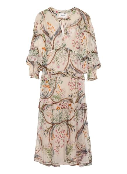 ba&sh Kleid GIGI mit Rüschenbesatz, Farbe: CREME/ PINK/ BLAU (Bild 1)