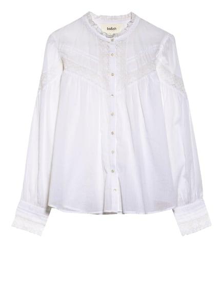 ba&sh Bluse IRENE mit Spitzenbesatz , Farbe: WEISS (Bild 1)