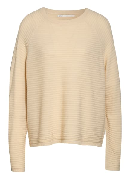 ONLY Oversized-Pullover , Farbe: BEIGE (Bild 1)