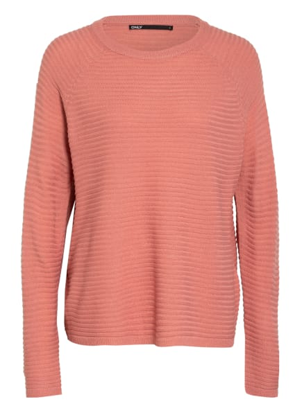 ONLY Oversized-Pullover , Farbe: HELLROT (Bild 1)
