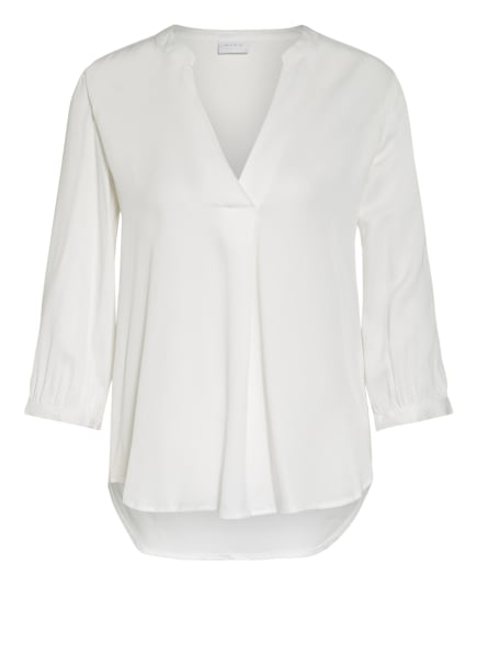 VILA Blusenshirt mit 3/4-Arm, Farbe: WEISS (Bild 1)