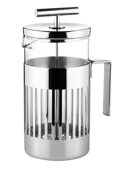 ALESSI Kaffee- und Teezubereiter 9094/8 mit Pressfilter, Farbe: SILBER (Bild 1)