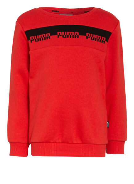 PUMA Sweatshirt, Farbe: ROT/ SCHWARZ (Bild 1)