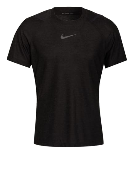 Nike T-Shirt PRO, Farbe: SCHWARZ/ GRAU (Bild 1)