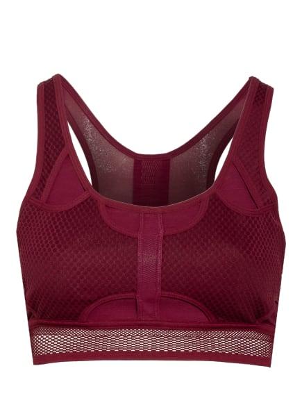 Nike Sport-BH SWOOSH ULTRABREATHE mit Mesh-Besatz, Farbe: DUNKELROT (Bild 1)