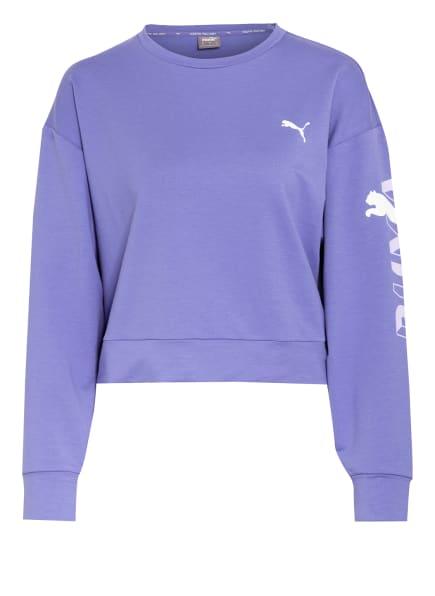 PUMA Sweatshirt MODERN SPORTS, Farbe: LILA/ WEISS/ HELLLILA (Bild 1)