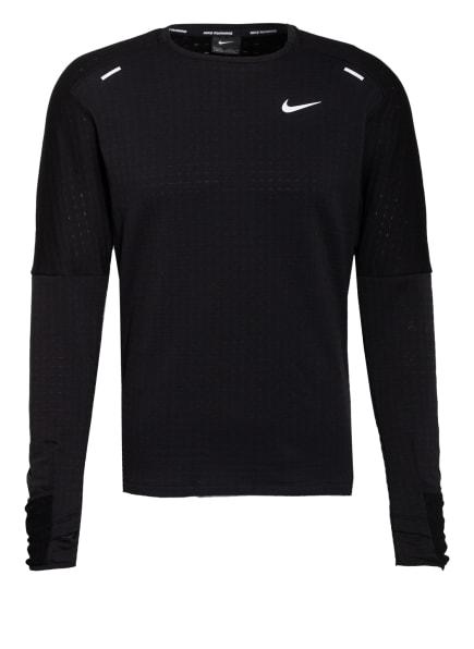 Nike Laufshirt SPHERE, Farbe: 010 BLACK/BLACK/REFLECTIVE SILV (Bild 1)