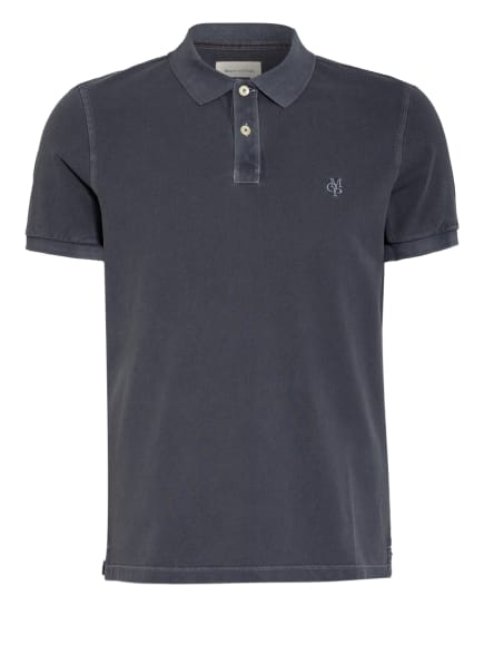Marc O'Polo Piqué-Poloshirt Regular Fit, Farbe: GRAU (Bild 1)
