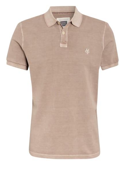 Marc O'Polo Piqué-Poloshirt Regular Fit, Farbe: TAUPE (Bild 1)