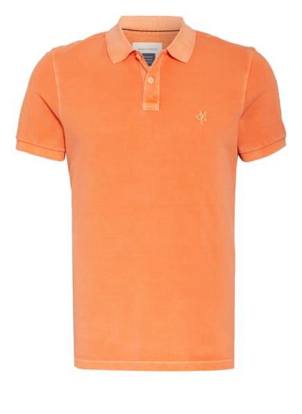 Marc O'Polo Piqué-Poloshirt Regular Fit, Farbe: ORANGE (Bild 1)