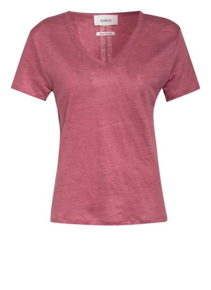 ba&sh T-Shirt JOUVE aus Leinen , Farbe: ALTROSA (Bild 1)