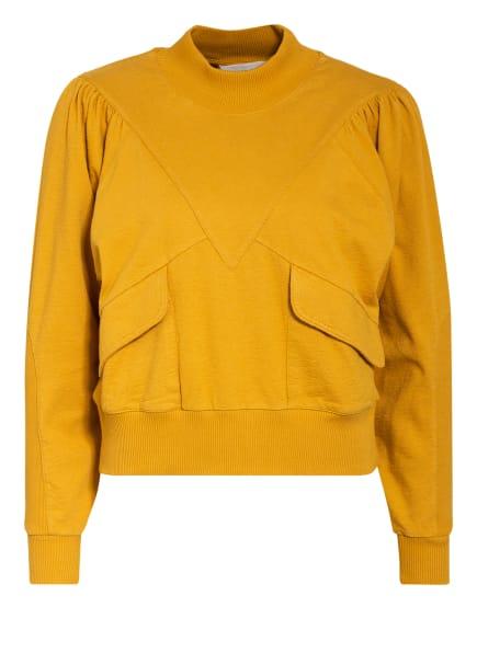 ba&sh Sweatshirt BATISTE, Farbe: DUNKELGELB (Bild 1)