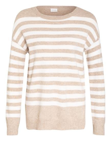 VILA Pullover, Farbe: WEISS/ BEIGE (Bild 1)