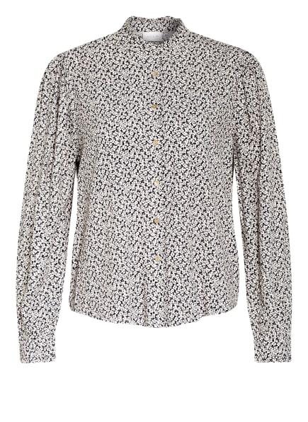 VILA Bluse , Farbe: DUNKELBLAU/ CREME (Bild 1)