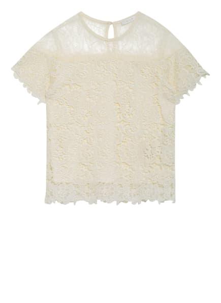 VILA T-Shirt aus Spitze, Farbe: ECRU (Bild 1)