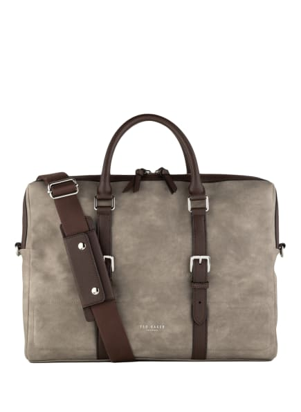 TED BAKER Business-Tasche WHILE, Farbe: TAUPE/ DUNKELBRAUN (Bild 1)