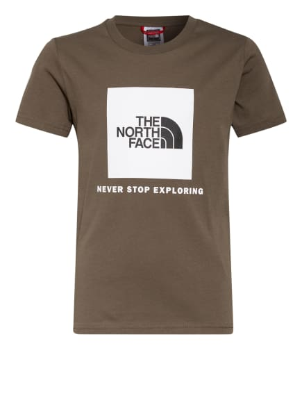 THE NORTH FACE Shirt, Farbe: KHAKI/ WEISS/ SCHWARZ (Bild 1)