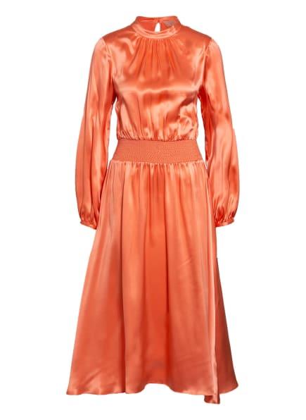 Mrs & HUGS Seidenkleid, Farbe: LACHS (Bild 1)