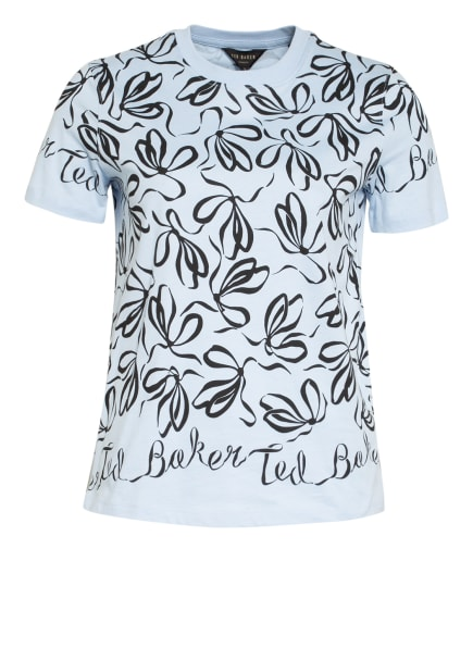 TED BAKER T-Shirt MODANA, Farbe: HELLBLAU/ SCHWARZ (Bild 1)