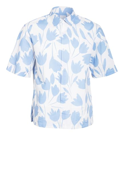 sandro Kurzarm-Hemd Regular Fit, Farbe: WEISS/ HELLBLAU (Bild 1)