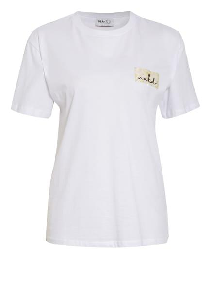 NA-KD T-Shirt, Farbe: WEISS (Bild 1)